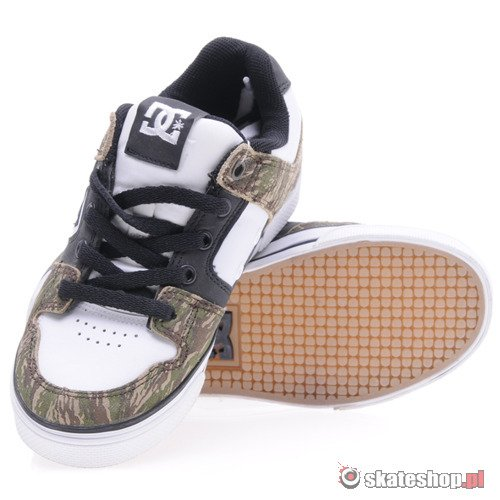 Buty DC Pure (white/woodland tiger camo) K51A28