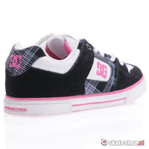 Buty DC Pure (wht/blk/pink) K59A45