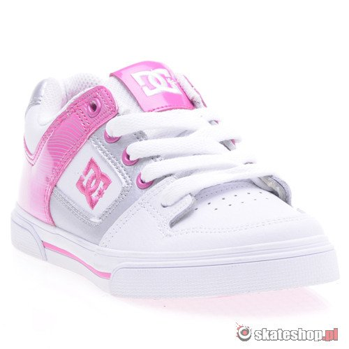 Buty DC Pure (wht/shockinh pink) K53A13