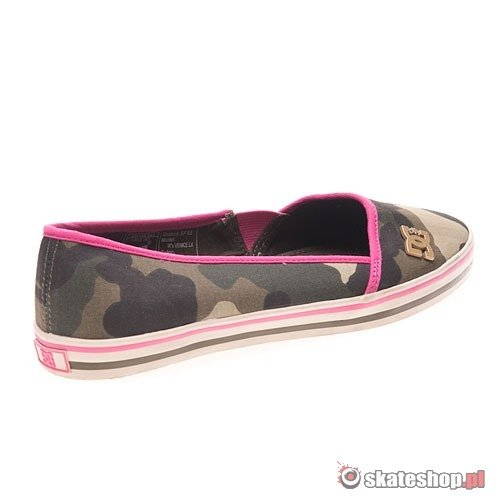 Buty DC Venice LX WMN (olive/pink) zielone moro 651