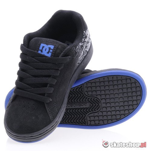 Buty DC Youth Character (blk/royal) K52A2