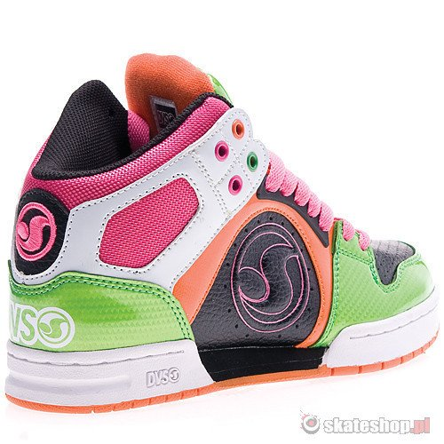 Buty DVS Aces High WMN (pink/orange/green leather) multikolor smpl