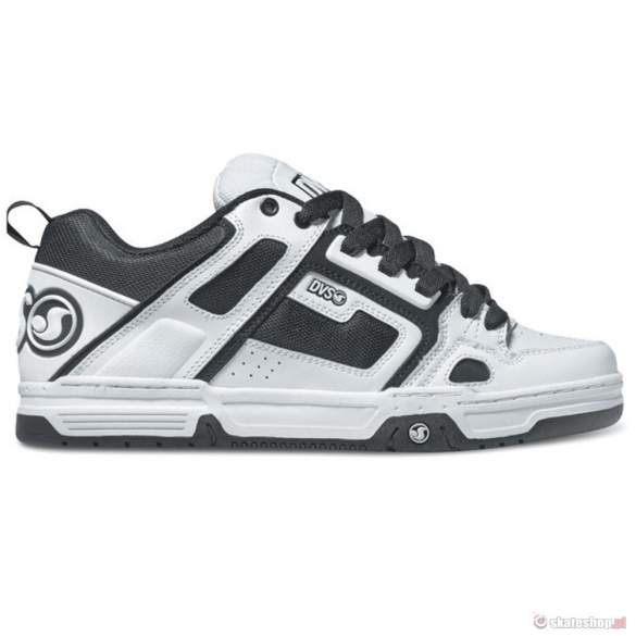 Buty DVS Comanche (white black leather)