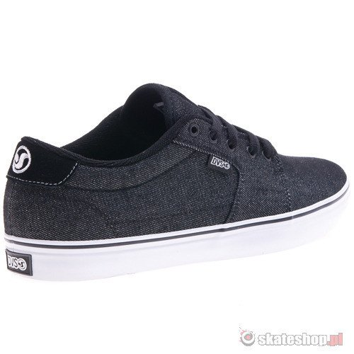 Buty DVS Convict 13 (black acid wash twill) czarne
