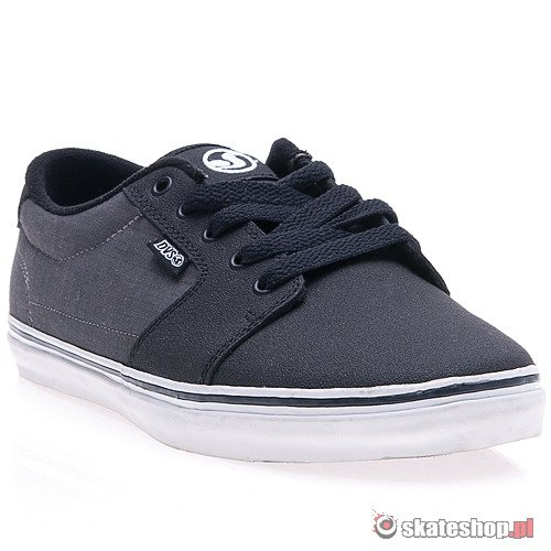 Buty DVS Convict (black/grey high abrasion) szare