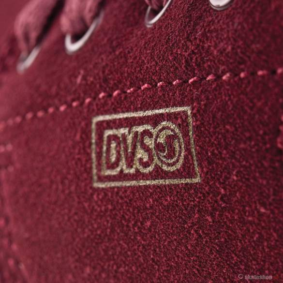 Buty DVS Daewon 13 CT 13 (port suede) bordowe