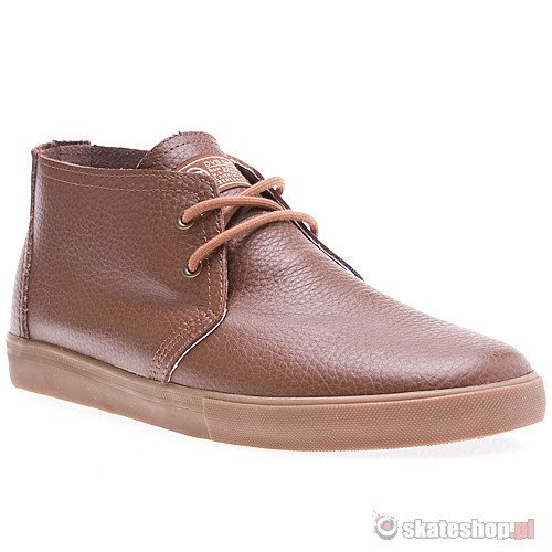 Buty DVS Dash (brown leather) brązowe smpl