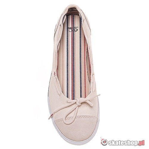 Buty DVS Demi WMN (cream canvas) kremowe