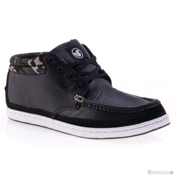 Buty DVS Hunt '13 (black leather) czarne