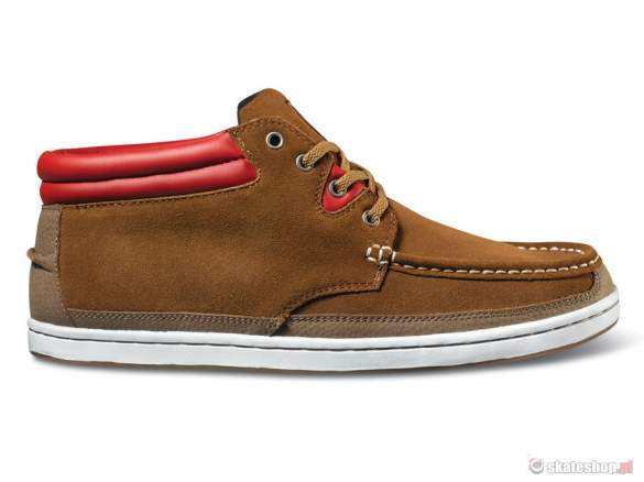 Buty DVS Hunt SMP '14 (bison brown suede) brązowe