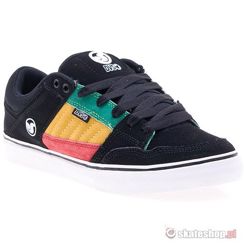 Buty DVS Ignition CT (black rasta) czarne