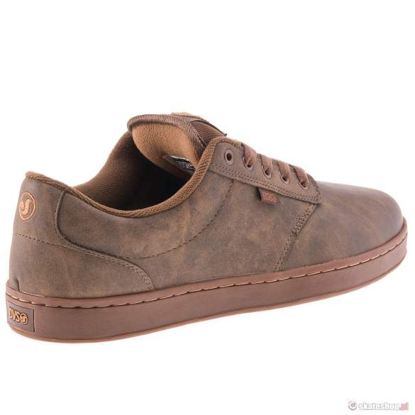 Buty DVS Inmate 13 (brown leather) brązowe