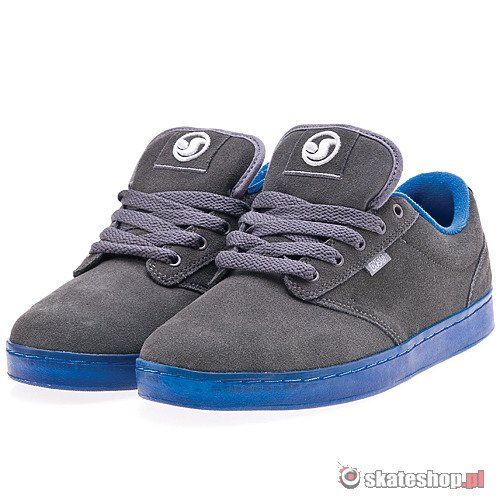 Buty DVS Inmate (grey crystal) szare