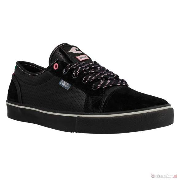 Buty DVS Luster '14 (black leather cinelli) czarne