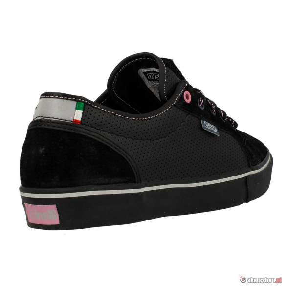 Buty DVS Luster CT SMP '14 (black leather cinelli) czarne