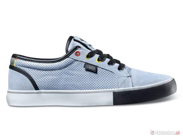 Buty DVS Luster CT SMP '14 (blue leather cinelli) czarne