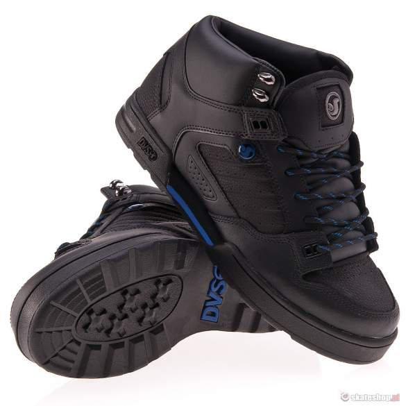 Buty DVS Militia Boot 13 (black leather snow) czarne