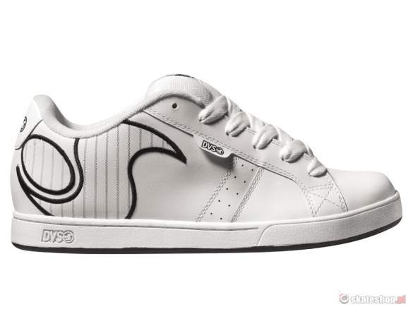 Buty DVS Platform SMP '14 (white pin action leather) białe