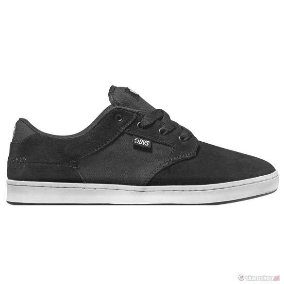 Buty DVS Quentin (black white suede)