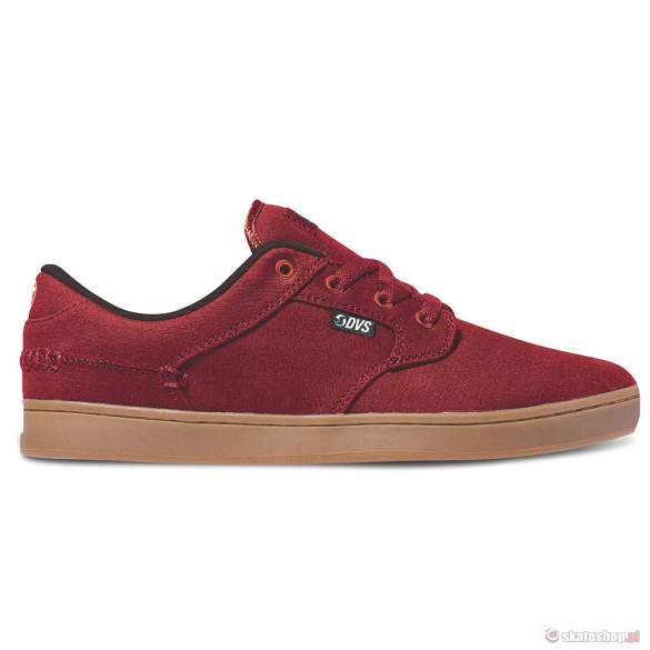 Buty DVS Quentin (red canvas)