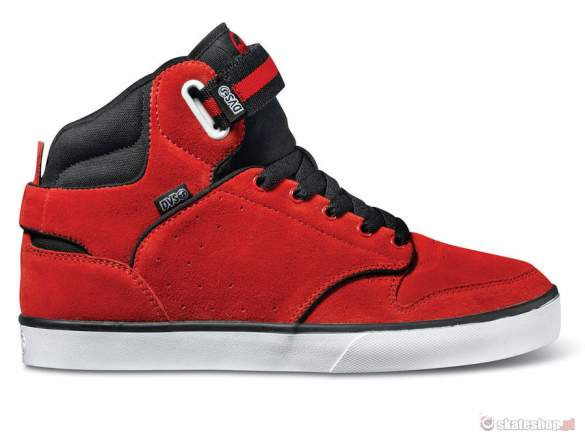 Buty DVS Selector SMP '14 (red suede) czerwone