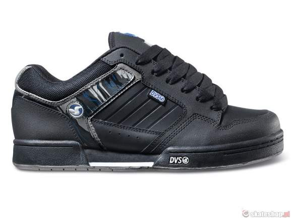 Buty DVS Transom SMP '14 (black h.a leather) czarne