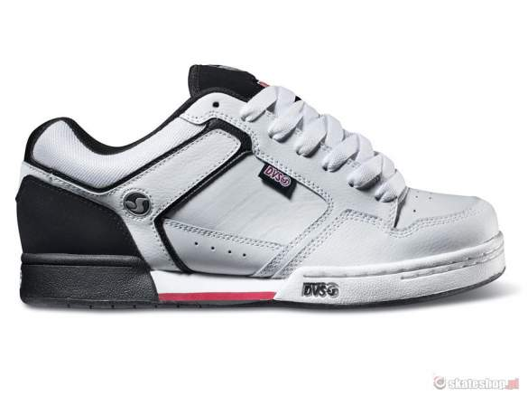 Buty DVS Transom SMP '14 (white black leather) białe