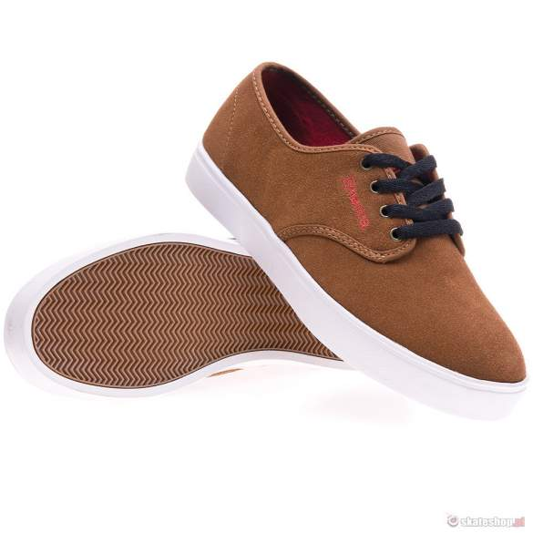 Buty EMERICA Laced '13 (brown/red) brązowe