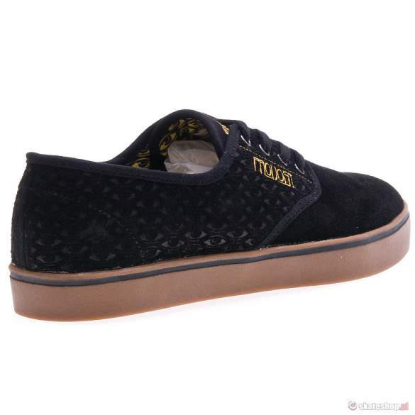 Buty EMERICA Laced  Toy Machine '13 (black/yellow) czarne