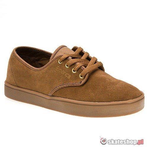 Buty EMERICA Laced (brown) brązowe