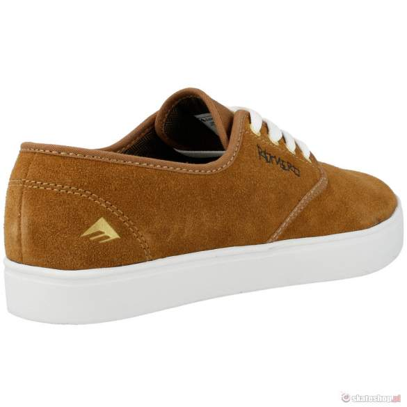 Buty EMERICA Laced by Leo S'14 (brown/white) brązowe