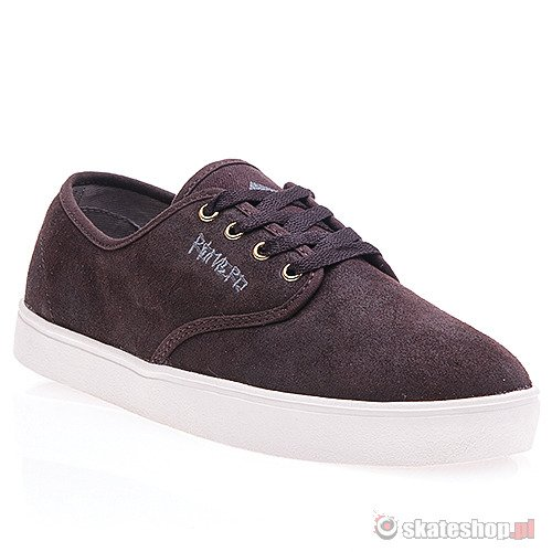 Buty EMERICA Leo Laced (brown) brązowe