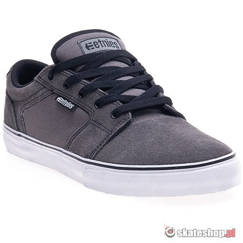 Buty ETNIES Barge LS (dark grey/black/white) szare