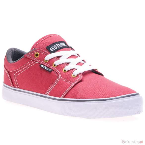 Buty ETNIES Barge LS (red/white/grey)