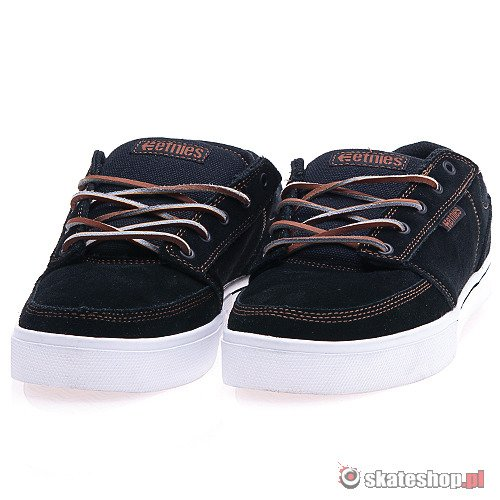 Buty ETNIES Brake Nathan Williams (black/white/gum) czarno-białe