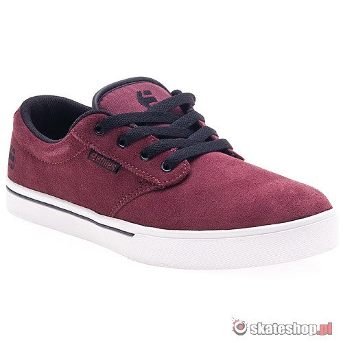 Buty ETNIES Jameson 2 (red/white/gum) bordowe