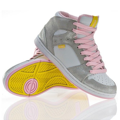 Buty ETNIES Perry Mid WMN (silver)