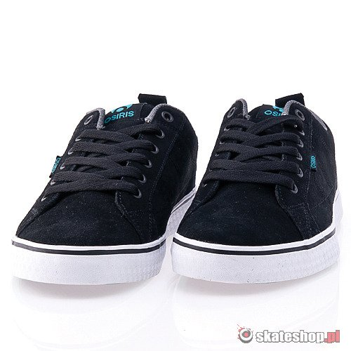 Buty OSIRIS 45 (black/charcoal/teal) czarne
