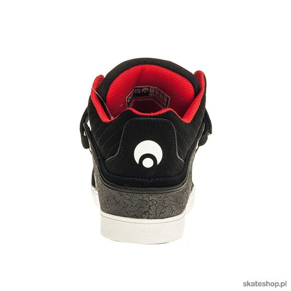 Buty OSIRIS Bingaman VLC (black/white/red)