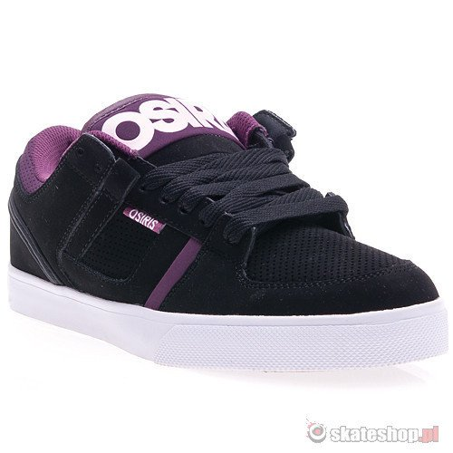 Buty OSIRIS CH2 (black/purple/white) czarne smpl