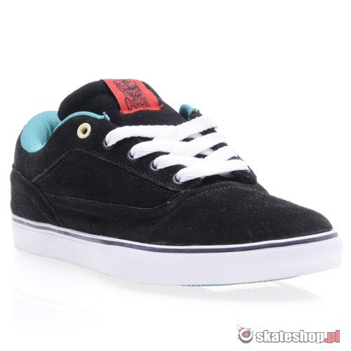 Buty OSIRIS Caswell VLC (blk/red/wht)