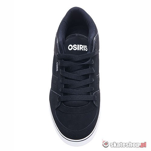 Buty OSIRIS Chino Low (black/white/orange) czarne