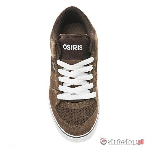 Buty OSIRIS Chino Low (brown/dark brown/white) brązowe