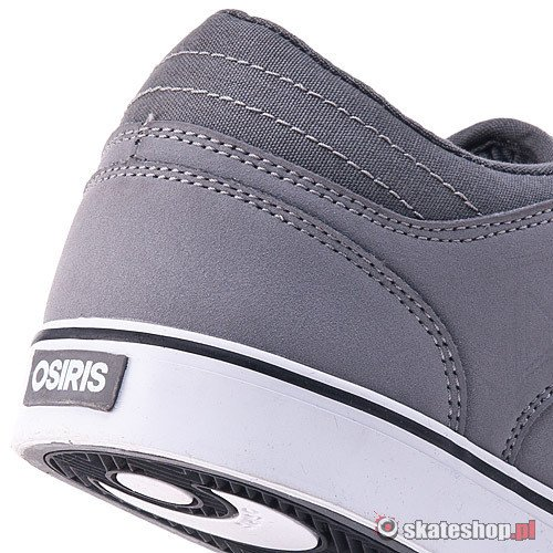 Buty OSIRIS Chino Low (grey/charcoal/white) szare smpl