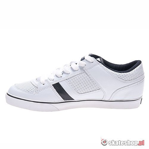 Buty OSIRIS Chino Low (white/black/lime) białe