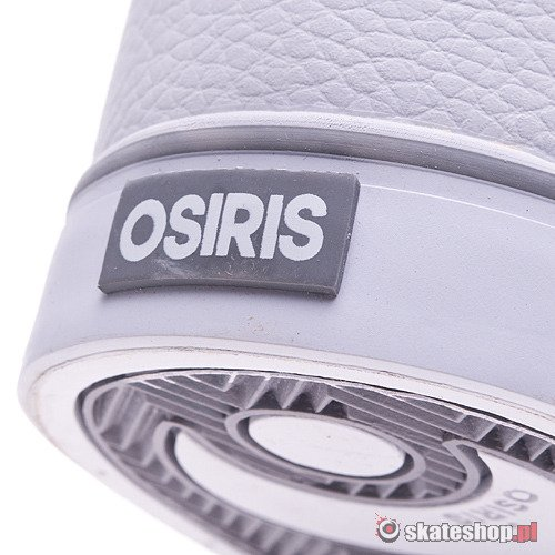 Buty OSIRIS Chino Low (white/grey/white) białe