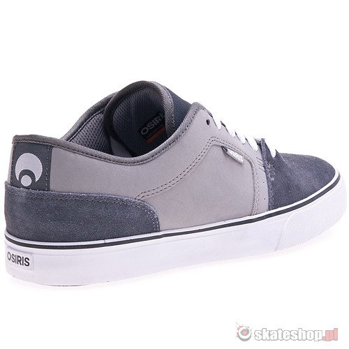 Buty OSIRIS Decay (charcoal/grey/white) szare