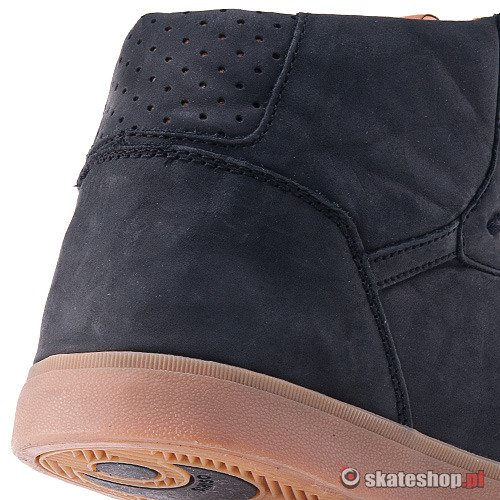 Buty OSIRIS Grounds (black/natural/gum) czarno-brązowe