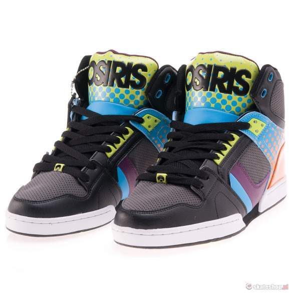 Buty OSIRIS NYC 83 '13 (blk/dot/fade) multikolor