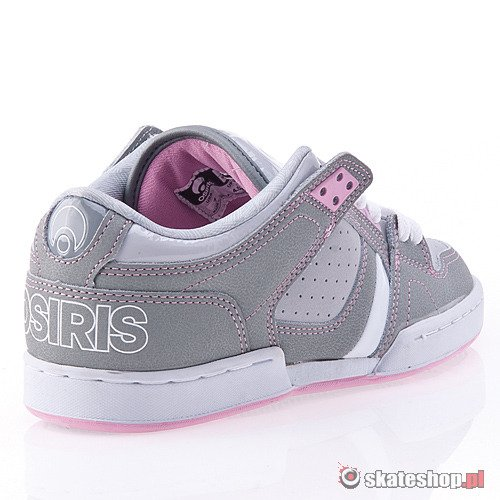 Buty OSIRIS NYC 83 Low WMN (grey/pink/white) szare smpl